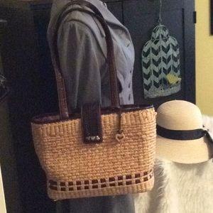 Vintage Brighton Straw Bag